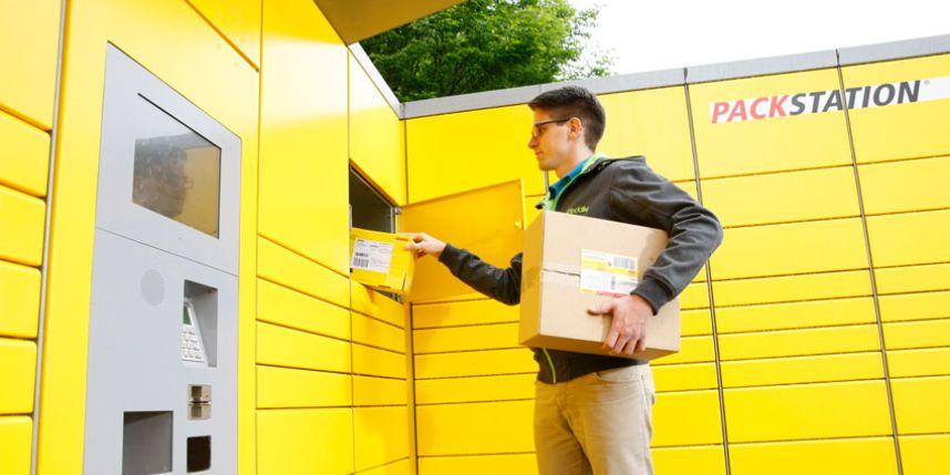 Pakketjesstation