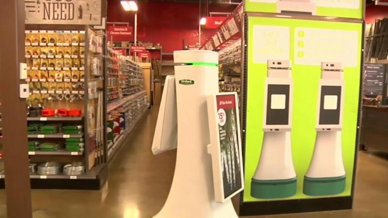 Robot helpt zoeken in supermarkt