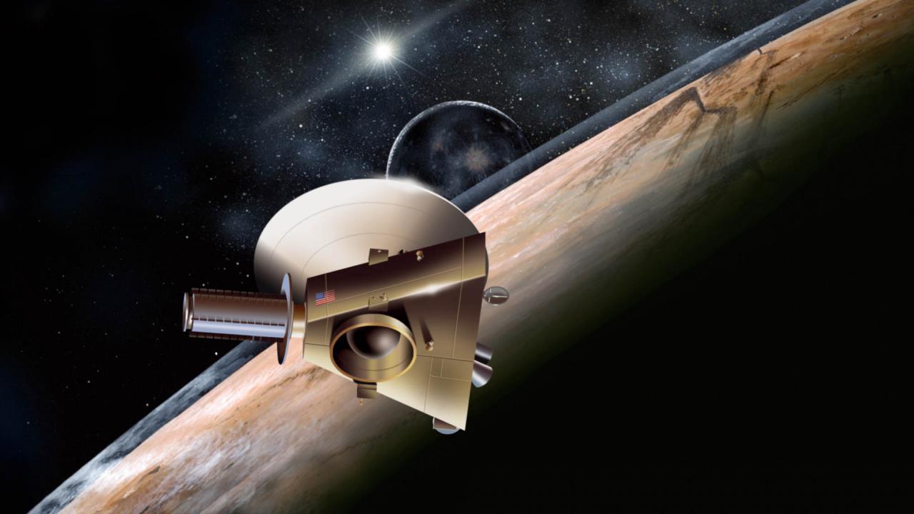 Ruimtesonde New Horizons is wakker geworden